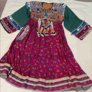 Dresses & Skirts - Vintage Afghan Kuchi dress